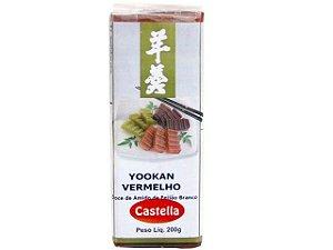 Yookan Vermelho (Doce de Feijão) -Castella 200 g