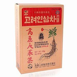 Chá de Ginseng Coreano  - Korean Ginseng Tea Gold 150 g