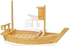 Barco para Sushi e Sashimi de 70 cm madeira