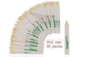 Hashi de Bambu com 50 unidades