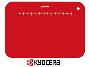Tábua de Corte Flexível 30 cm X 21 cm Vermelha - Kyocera