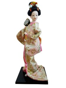 Boneca Gueixa 30 cm 1353