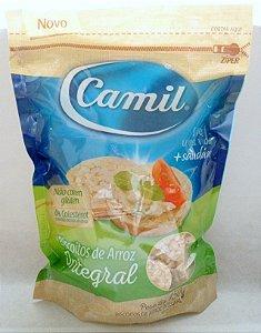 Mini Biscoitos de Arroz Integral - Camil 150 g
