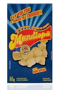 Mandiopã (Aperitivo de Mandioca) Natural 80 g