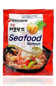 Macarrão Instantâneo sabor Frutos do Mar - NongShim 100 g