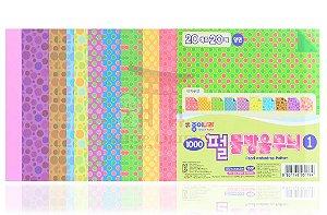 Papel de Origami 15 x 15 - 20 folhas (CO13K201)
