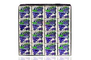 Chiclete (Bubble Gum) sabor Uva - Marukawa 48 unidades