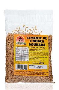 Semente de Linhaça Dourada - Casa Forte 200 g