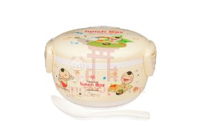Lunch Box com Tampa Creme (211)