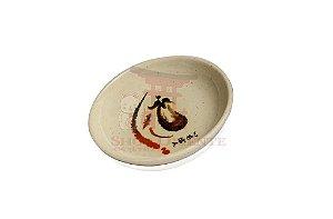 Pires redondo para Shoyu (Nozoki) 101N - Bege Claro