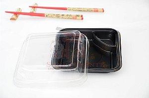 Embalagem Descartável para Gyoza 15 x 15 cm (10 unidades)