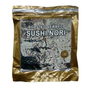 Nori - Alga Marinha (Yakinori Premium Gold) 50 folhas