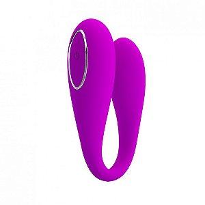 Vibrador de Casal com 12 Modos de Vibração Controlado via Bluetooth