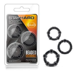 Anel Peniano Stay Hard - Beaded Cock Rings