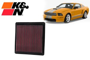 Filtro K&N Mustang V6/V8