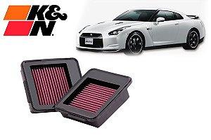 Filtro K&N Nissan GT-R 09-17 kit C/2