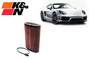 Filtro K&N Porsche Boxster / Cayman 2.7/ 3.2 2005+