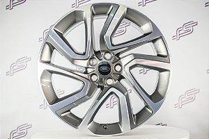 Jogo De Rodas Range Rover Sport Grafite Diamantado 5x120 - 21x9,5