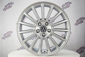 Jogo De Rodas VW Golf R-32 Aristo Prata 5x112 - 18x8