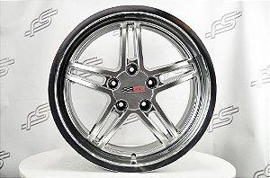 Roda Corvette Cray Scorpion Aro 18 / 5 Furos