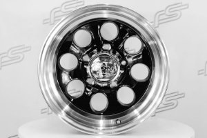 Roda Ion modelo 171 Black Borda diamantada Aro 15 / 5 Furos