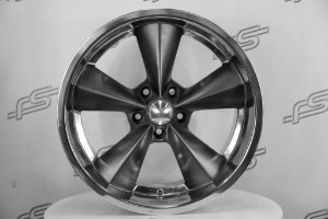 Roda Junk Yard Dog Grey Fosca Aros 18 e 20/ 5x114,3 ( KIT COM 04 RODAS)