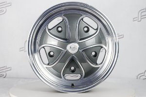 Roda RDW Grafite Diamantada Aro 15 / 5 Furos (5x205)