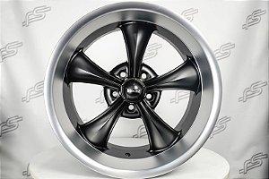 Roda Ridler 695 Black Fosco Aro 18 / 5 Furos
