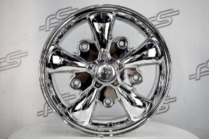 Roda Raw Classics Five Spoke GT5 Aro 15 / 5 Furos