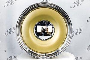 Roda Smoothie Dourada Fosca borda polida Aro 20 / 5 Furos