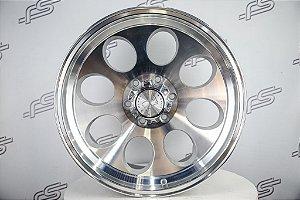 "Roda Ion modelo 171 Silver aro 20"" 6 Furos (KIT COM 4 RODAS)"