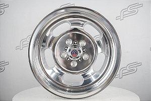 Jogo de rodas U.S Mags Indy Polish aro 15 / Talas 8 e 9 / furação 5x114,3