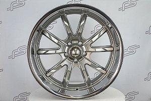 RODA RIDLER 650 Grey 18 / 5 furos (KIT COM 4 RODAS)