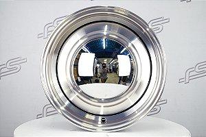 Roda Smoothie para Fusca Aro 15 Diamantada / 4 Furos (4x130) Traseira