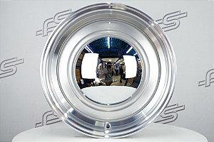 Roda Smoothie para Fusca Aro 15 Prata Tala 5,5 / 4 Furos (4x130)