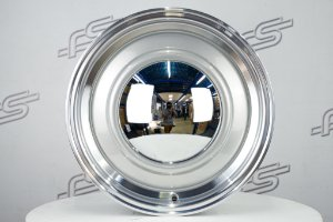 Roda Smoothie para Fusca Aro 15 Prata / 4 Furos (4x130) Traseira