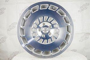 Jogo Roda Rotiform CCV Prata 5x112 - 19x8,5