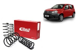 Pro-Kit Molas Esportivas Eibach Fiat Uno 1.0/1.4 (2010+) / Palio G5 1.0/1.4/1.6 (2012+)