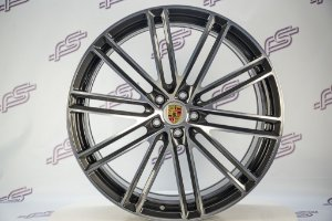 Jogo de Rodas Porsche Macan Turbo 2020 Forged 5x112 - 21x9 E 21x10