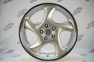 Jogo De Rodas Porsche CUP-3 Original Prata 5x130 - 20x8 E 20x10