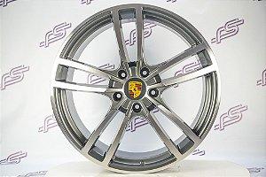 Jogo de Rodas Porsche Cayenne 2018 Grafite 5x130 - 21x9,5