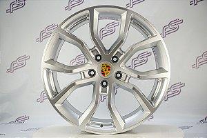 Jogo De Rodas Porsche Cayenne 2018 Prata 5x130 - 21x9,5