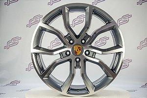 Jogo De Rodas Porsche Cayenne 2020 5x130 - 21x9,5 E 21x11