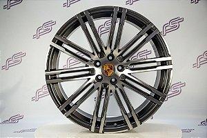 Jogo De Rodas Porsche Macan 911 Turbo 5x112 - 21x9 E 21x10