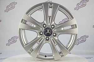 Jogo De Rodas Mercedes A-200 2017 Original Prata 5x112 - 17x7,5
