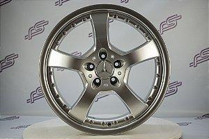 Jogo De Rodas Mercedes  ML-Klass Prata 5x112 - 19x8,5 E 19x9,5
