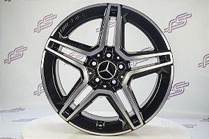 Jogo De Rodas Mercedes C-300 2019 Preto 5x112 - 18x8 e 18x8,5