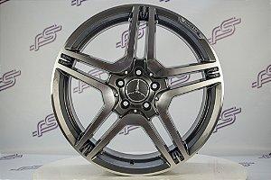 Jogo De Rodas Mercedes CLS-2013 Grafite Diamantada 5x112 -19x8,5