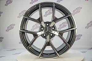 Jogo De Rodas Mercedes CLS-63 AMG Grafite 5x112 - 19x8 e 19x9