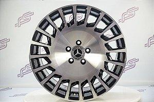 Jogo De Rodas Mercedes Maybach Diamantado 5x112 - 19x8,5 E 19x9,5